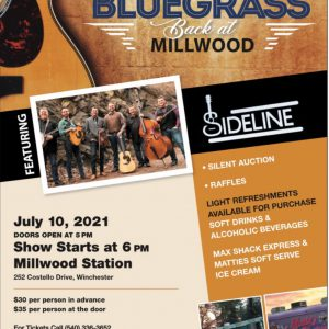 Bluegrass Show | Millwood Station | Winchester, VA